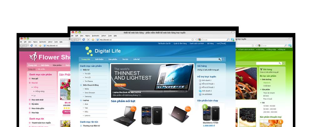Thiết kế web trọn gói 1.29tr